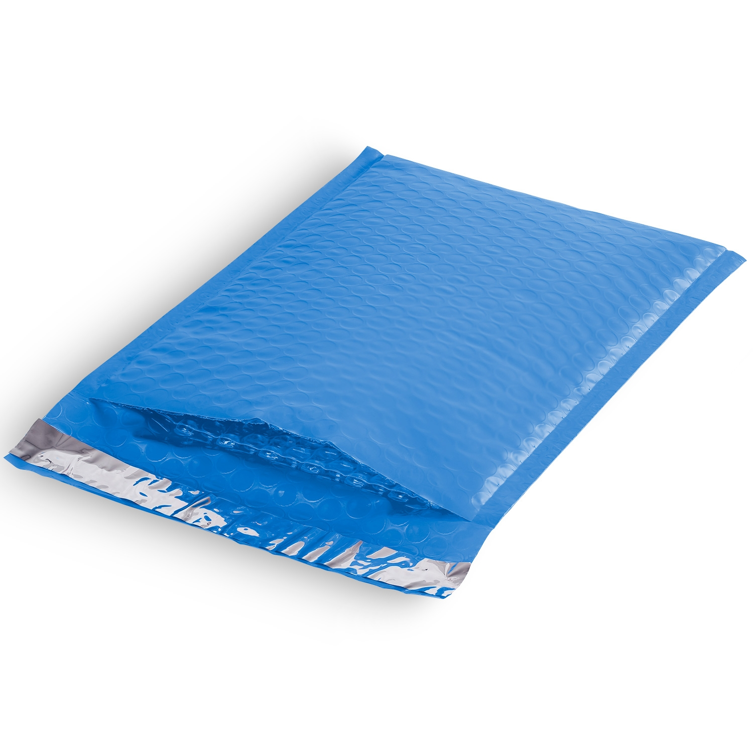 Blue Poly Bubble Mailer
