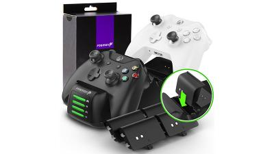 Keep up to four Xbox One controllers ready to go w/ Fosmon's new Quad Pro Charging Station
