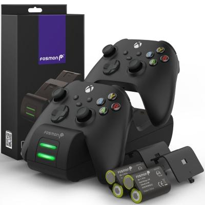 Fosmon Releases New Upgraded Dual 2 Max Controller Charging Station for Xbox Series X and Series S